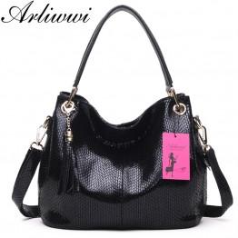 100% Genuine Leather Women's Real Cowhide Cross body Handbag
