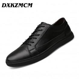 Fashion Handmade Genuine leather men Shoes