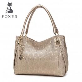 FOXER Brand Women Leather Shoulder bag
