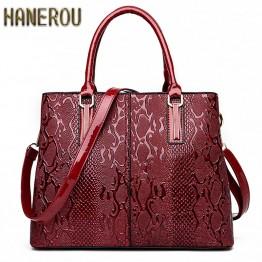 Luxury Snake Shoulder Bags
