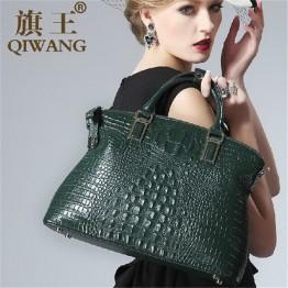 Authentic Crocodile Bag 100% Genuine Leather Women's Handbag