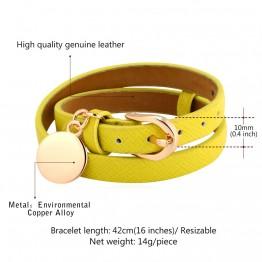 Genuine Leather Bracelet For Women